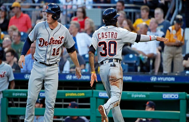 Tigers grind out 5-4 win over Pirates