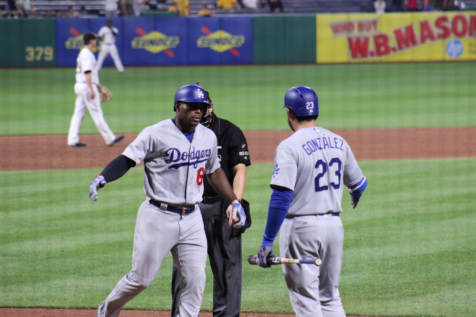 Puig homers to lead Dodgers over Pirates in 12
