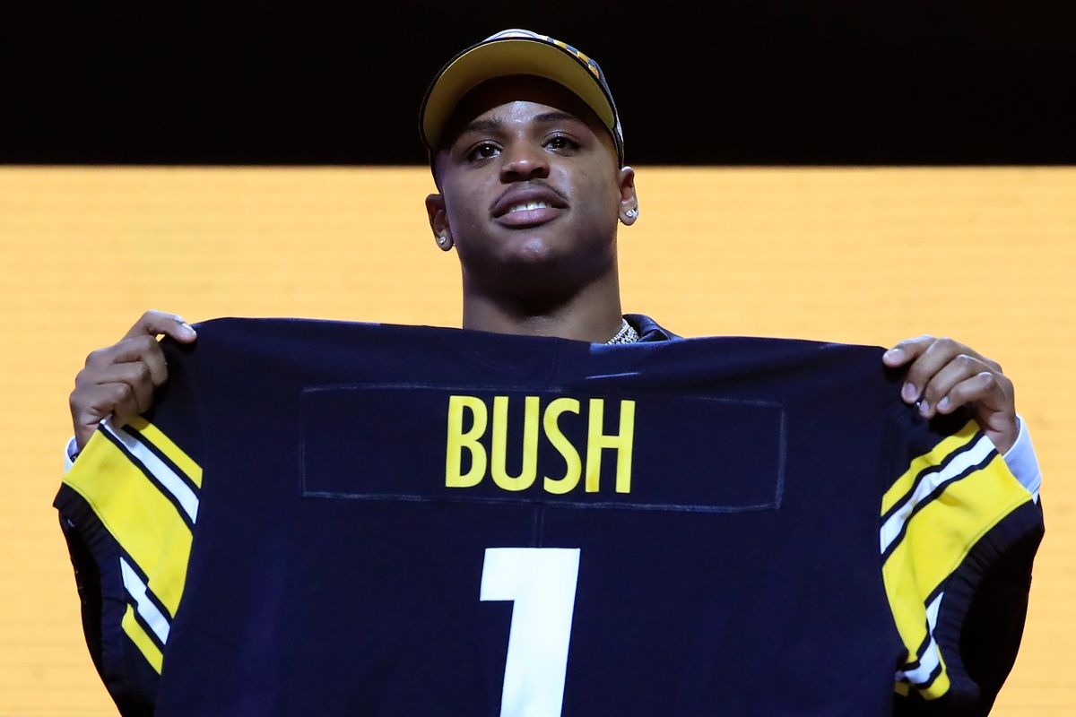 Steelers trade up, draft Devin Bush 10th overall