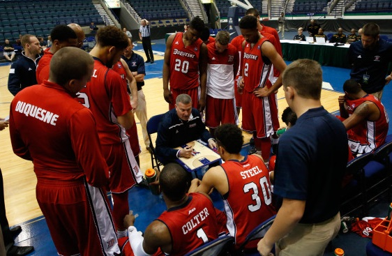 Duquesne suffers first loss of the season