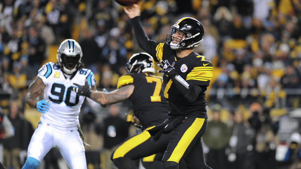 Steelers devour Carolina in complete 52-21 victory