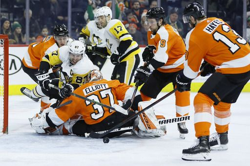 Flyers Blank Penguins 3-0