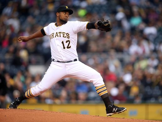 Pirates win fifth straight with 4-1 victory over Reds