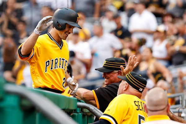 Pirates battle back to take two of three from Phillies