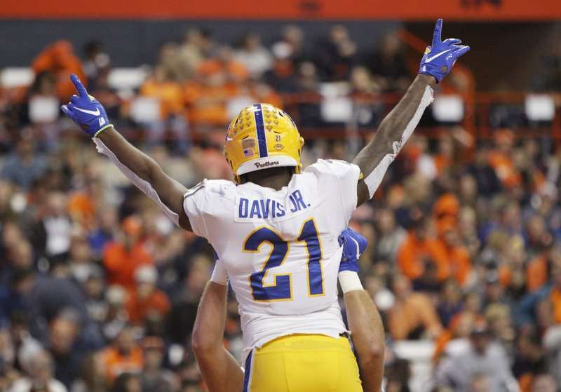 Pitt tops Syracuse 27-20 on road for fourth straight win