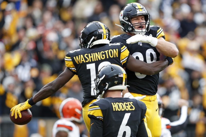Hodges, defense dominate Browns in second half, Steelers win 20-13