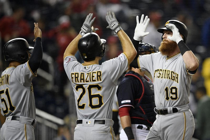 Colin Moran's pinch hit, 3-run blast lifts Pirates to 6-3 win