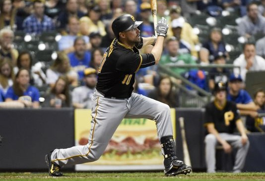 Mercer's grand slam leads Pirates over Brewers