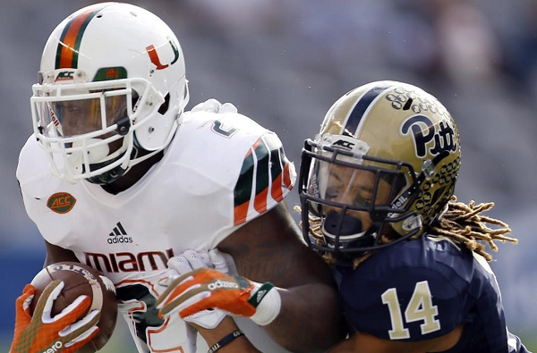 Miami's early start too much for Pitt