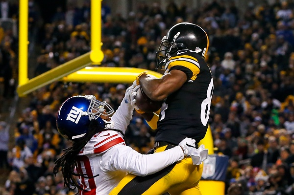 Steelers win third straight with 24-14 win over Giants