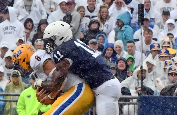 Pitt loses 17-10 to Penn State in final installment of the 'Backyard Brawl'