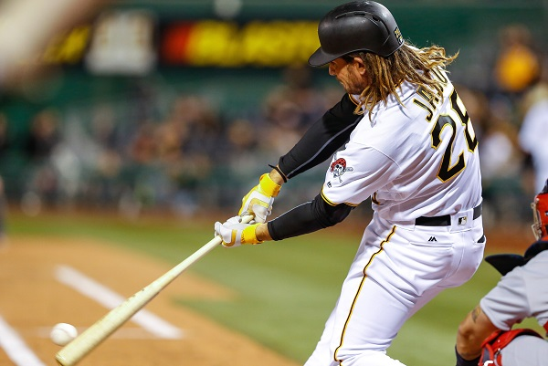 Jaso hits for cycle as Pirates beat Cubs 8-4