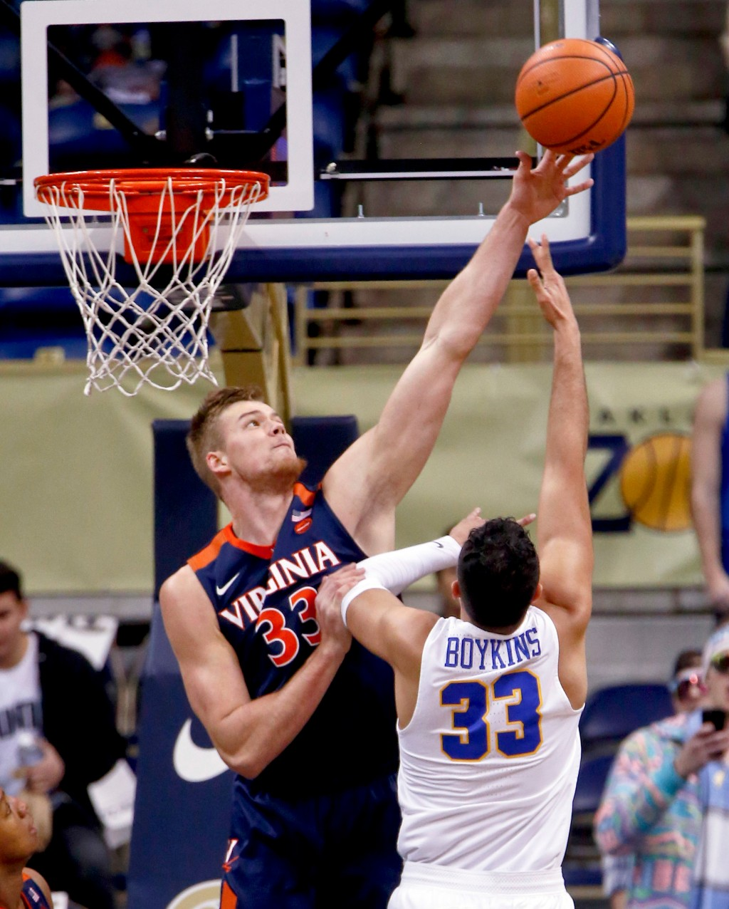 Pitt closes home regular season schedule with a 66-37 loss to Virginia