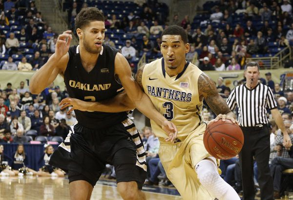 Pitt outlasts Oakland in overtime
