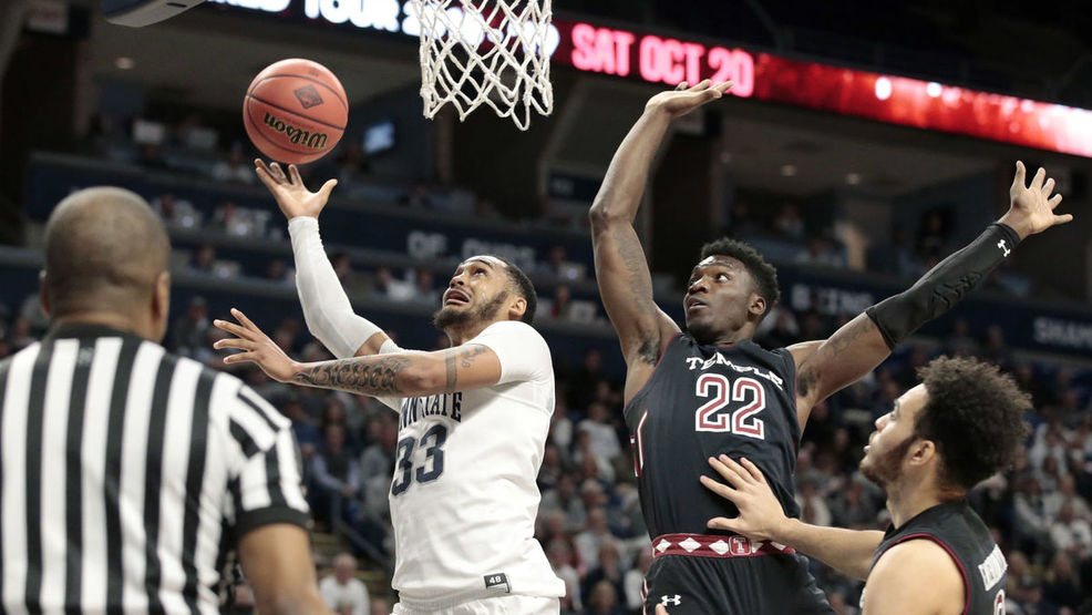 Penn State tops Temple 63-57 in NIT First Round