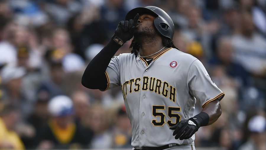 Josh Bell's May has been one giant leap into baseball greatness