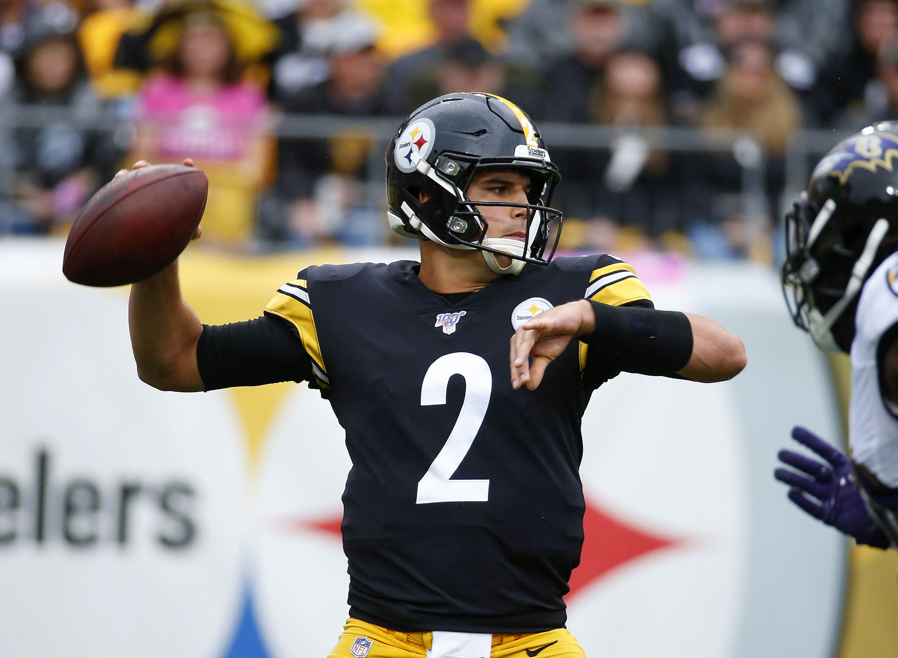Tomlin assures Rudolph 'is our quarterback' going forward