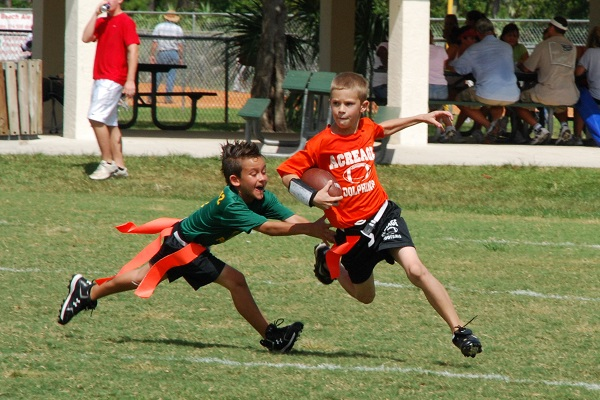 Flag Football: A Safe Alternative