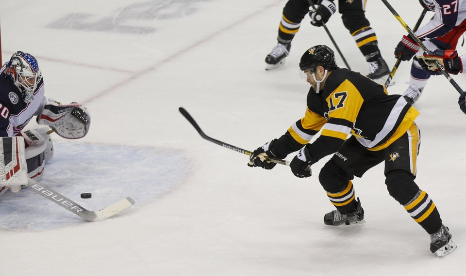 Jarry, Penguins grind down Columbus in 1-0 overtime victory