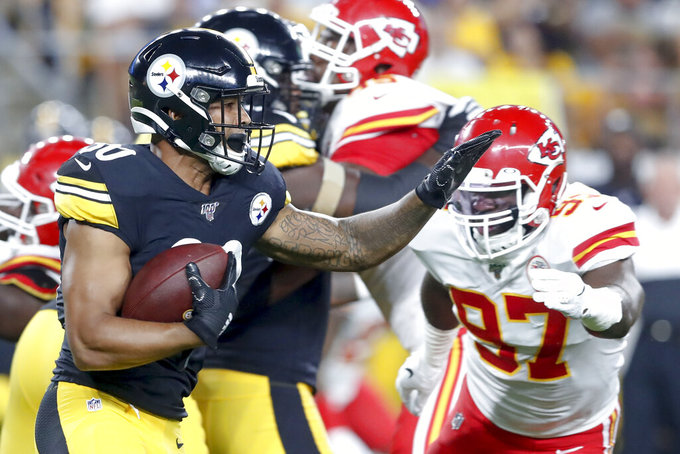 Steelers honor Drake, top Chiefs 17-7 in preseason matchup
