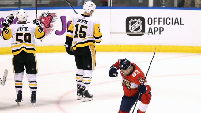 Florida snaps Pens six-game winning streak with 5-4 win