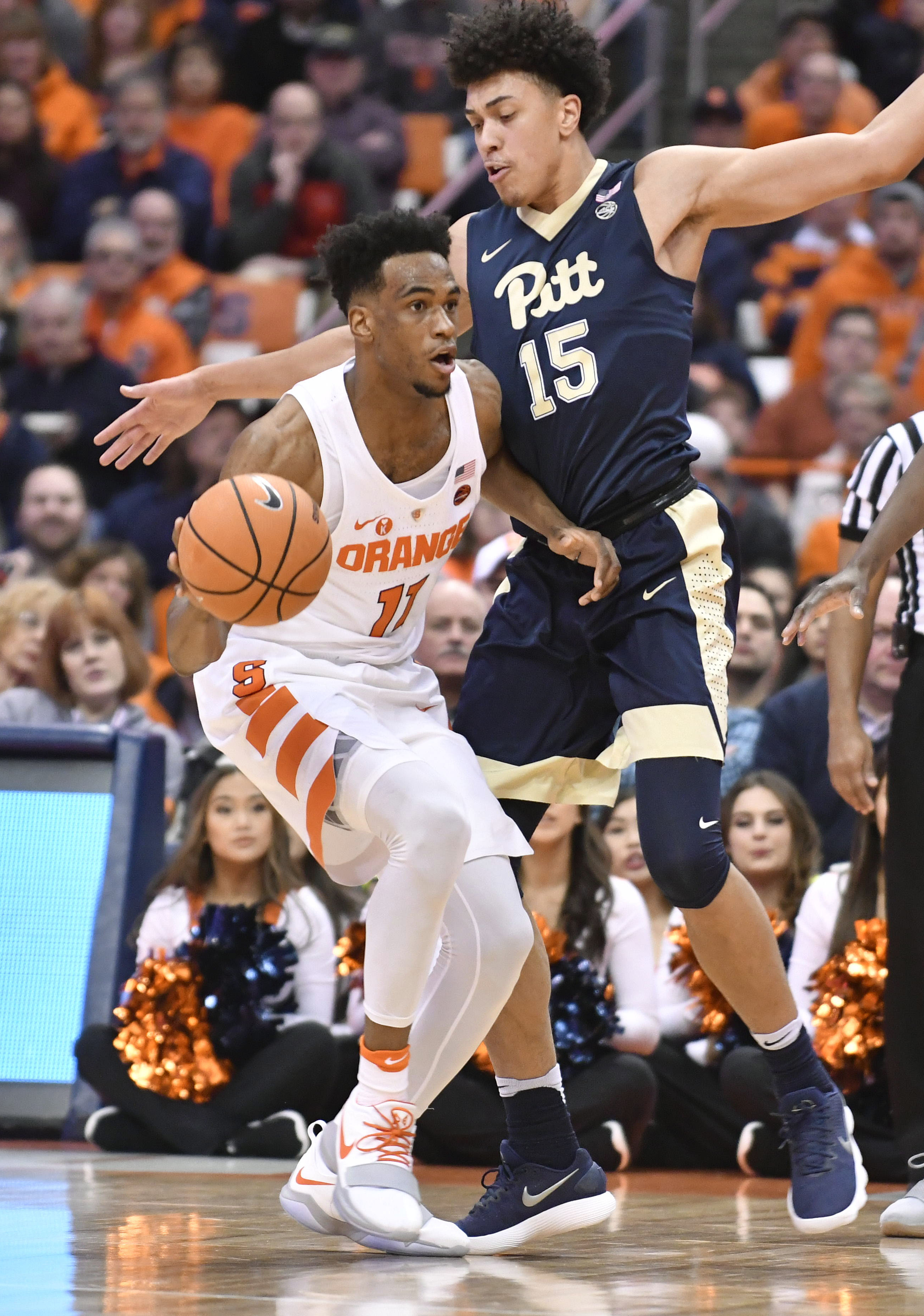 Syracuse outlasts Panthers in second half