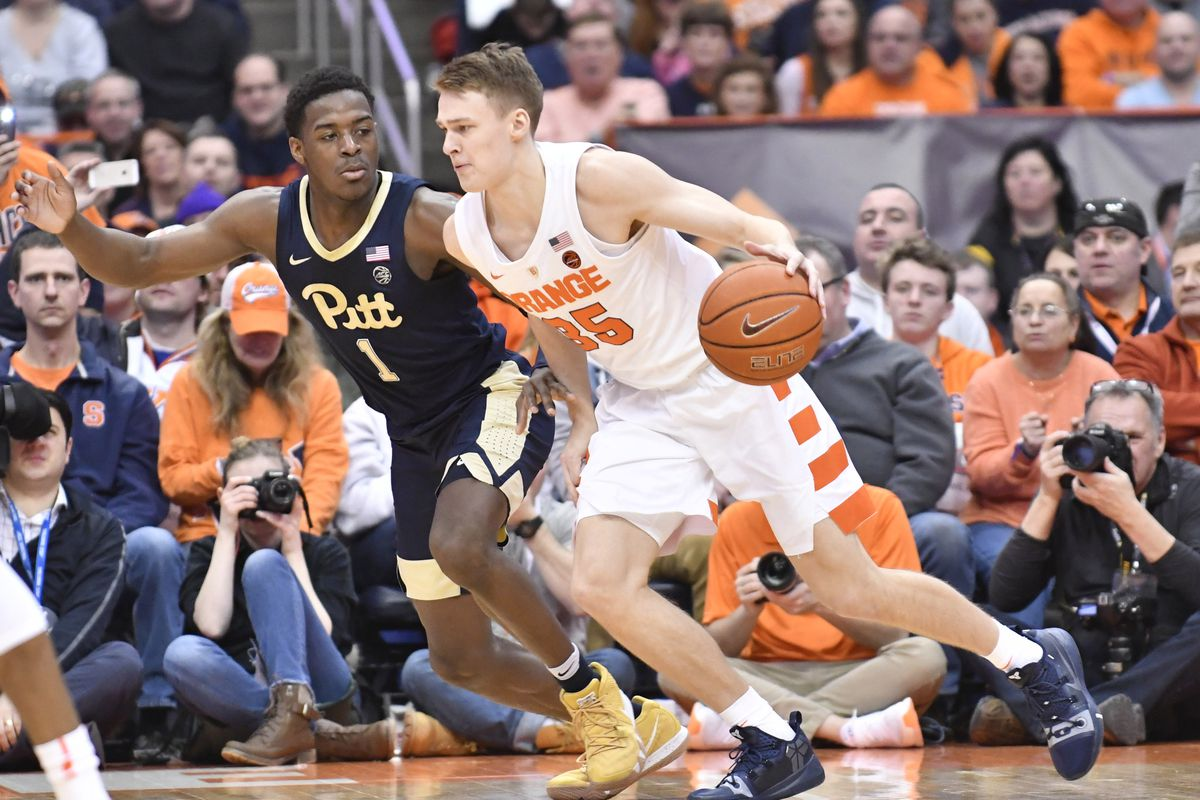 Battle's 22 leads Syracuse over Pitt 74-63