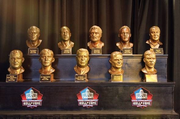 all Steelers of Fame Hall to 22 History Center  display